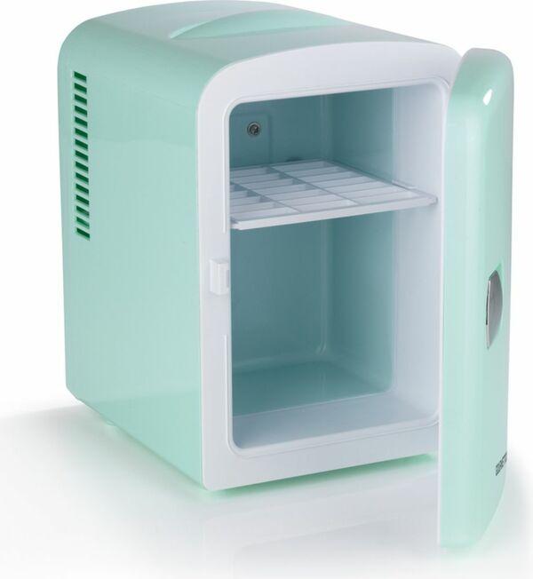 GOURMETmaxx Mini-Kühlschrank Retro 45W, mint