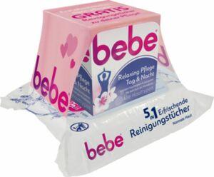 Bebe Relaxing Creme + Reinigungstücher gratis 50ml