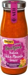 Thomy Indian Tikka Masala Sauce Glas 250ml