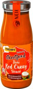 Thomy Thai Red Curry Sauce Glas 250ml