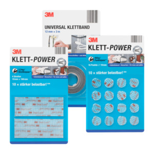 3M Klett-Power / -band