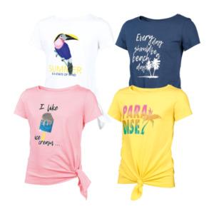 POCOPIANO     T-Shirts mit Knoten