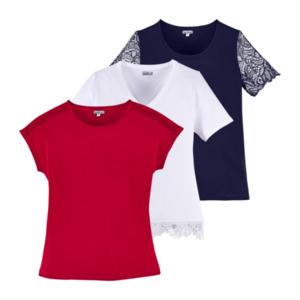 UP2FASHION     T-Shirt mit Spitze