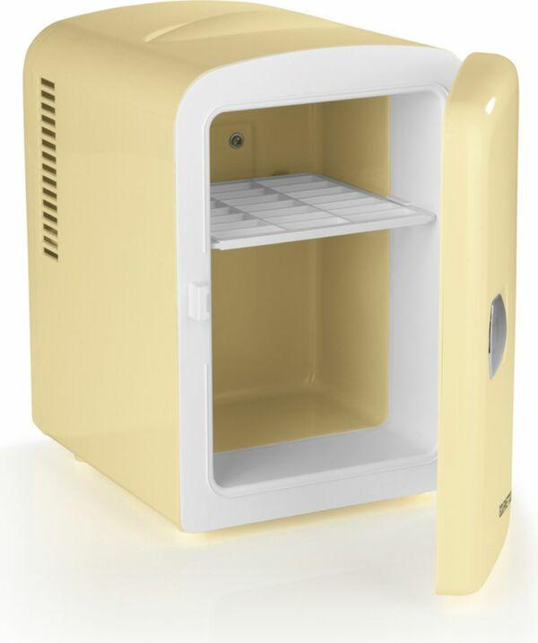 GOURMETmaxx Mini-Kühlschrank Retro 45W, vanille