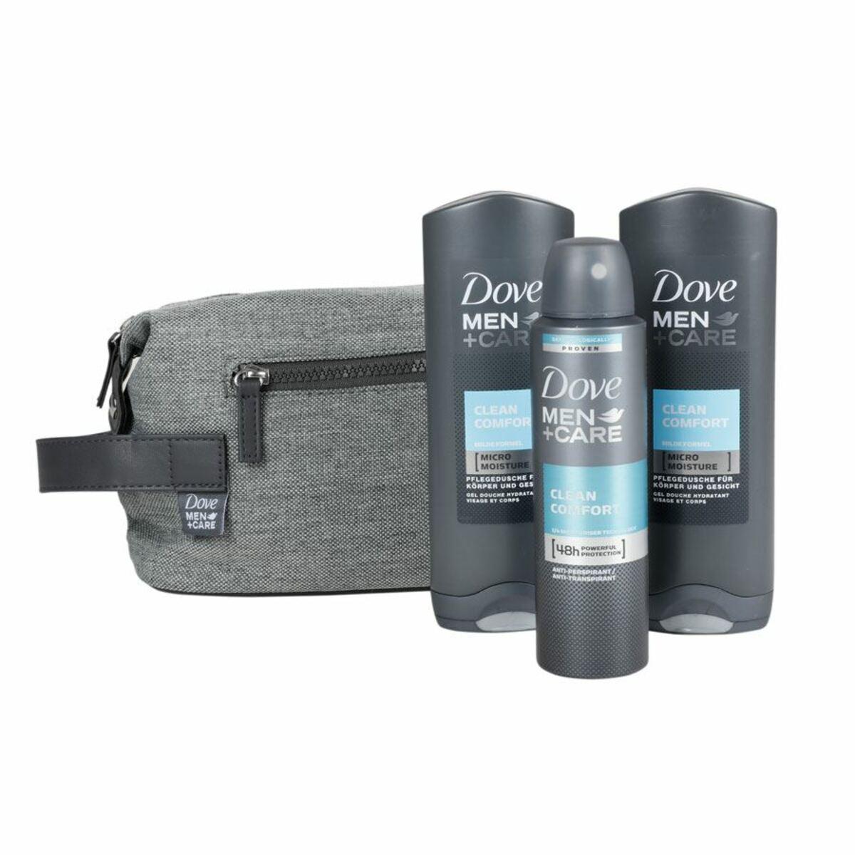 Bild 1 von DOVE Men+Care Geschenkset mit Kulturbeutel