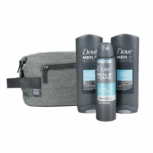 DOVE Men+Care Geschenkset mit Kulturbeutel