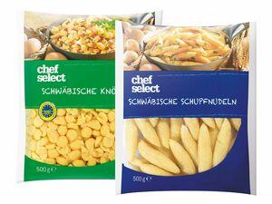Schwäbische Schupfnudeln/Spätzle/Knöpfle