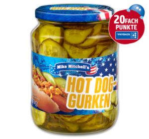MIKE MITCHELL'S Hot Dog Gurken