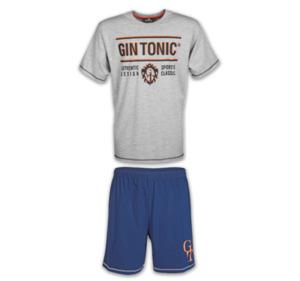 GIN TONIC Herren-Shorty-Pyjama