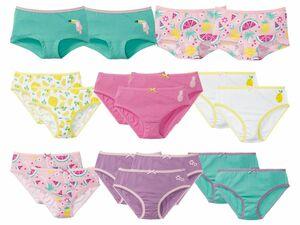 LUPILU® Kleinkinder Mädchen 4 Pantys/7 Slips