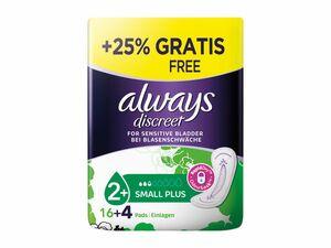 Always Dailies Slipeinlagen/ Discreet Hygieneeinlage