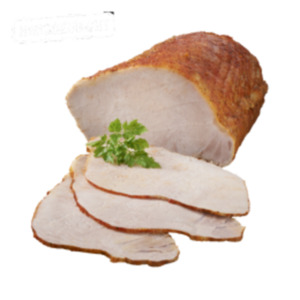 Deutscher gegarter Schweine-Rückenbraten