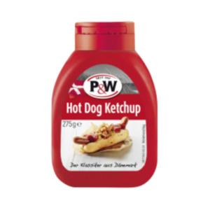 P&W Hot Dog Ketchup oder Senf