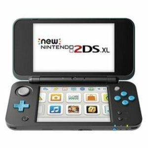 Nintendo 2DS XL - Konsole (schwarz/türkis)