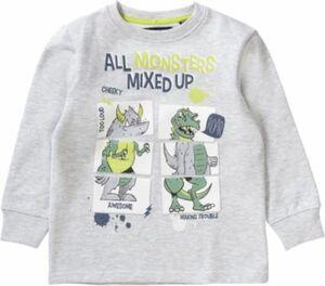 Sweatshirt grau Gr. 92 Jungen Kleinkinder