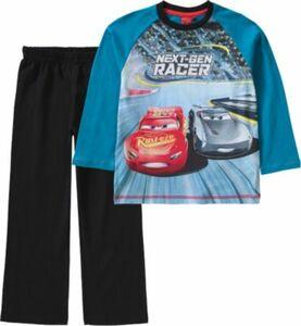 Disney Cars Schlafanzug schwarz/petrol Gr. 92 Jungen Kleinkinder