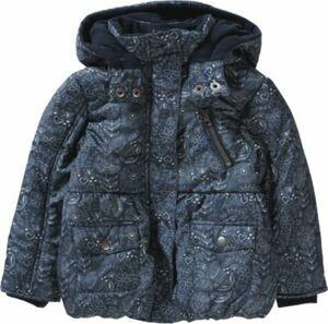 Winterjacke dunkelblau Gr. 92 Mädchen Kleinkinder