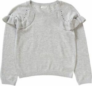 Pullover hellgrau Gr. 170 Mädchen Kinder