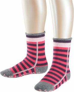 Socken Stripe Logo pink Gr. 39-42 Mädchen Kinder