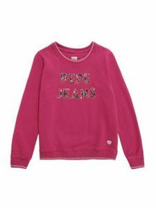 Pepe Jeans Sweatshirt AMADEA Sweatshirts pink Gr. 128 Jungen Kinder