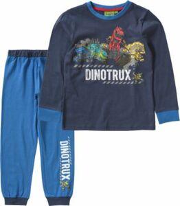 Dinotrux Schlafanzug blau Gr. 104/110 Jungen Kleinkinder