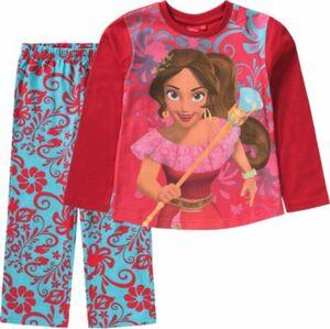 Disney Elena von Avalor Schlafanzug türkis/rot Gr. 92 Mädchen Kleinkinder