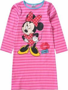 Disney Minnie Mouse Kinder Nachthemd pink/blau Gr. 92/98 Mädchen Kleinkinder