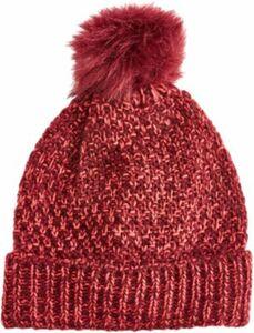 Mütze rot Gr. 1 Damen Kinder