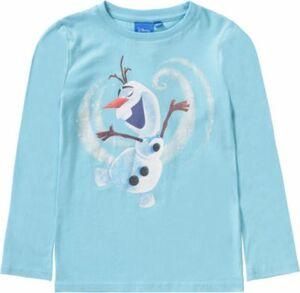 Disney Die Eiskönigin Langarmshirt türkis Gr. 128/134 Mädchen Kinder