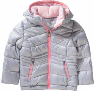 Winterjacke grau Gr. 164 Mädchen Kinder