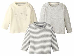 LUPILU® 3 Baby Langarmshirts