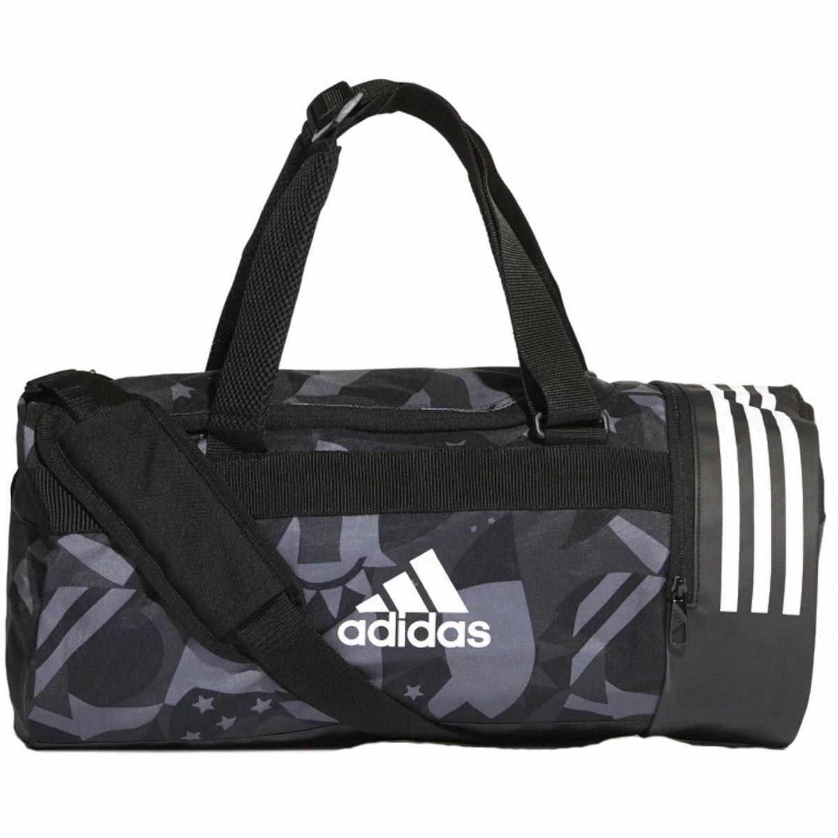 Bild 1 von adidas Trainingstasche Convertible 3-Streifen Graphic Duffelbag S