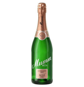 Mumm & Co.             Mumm Rosé Dry Jahrgangssekt, 0,75l