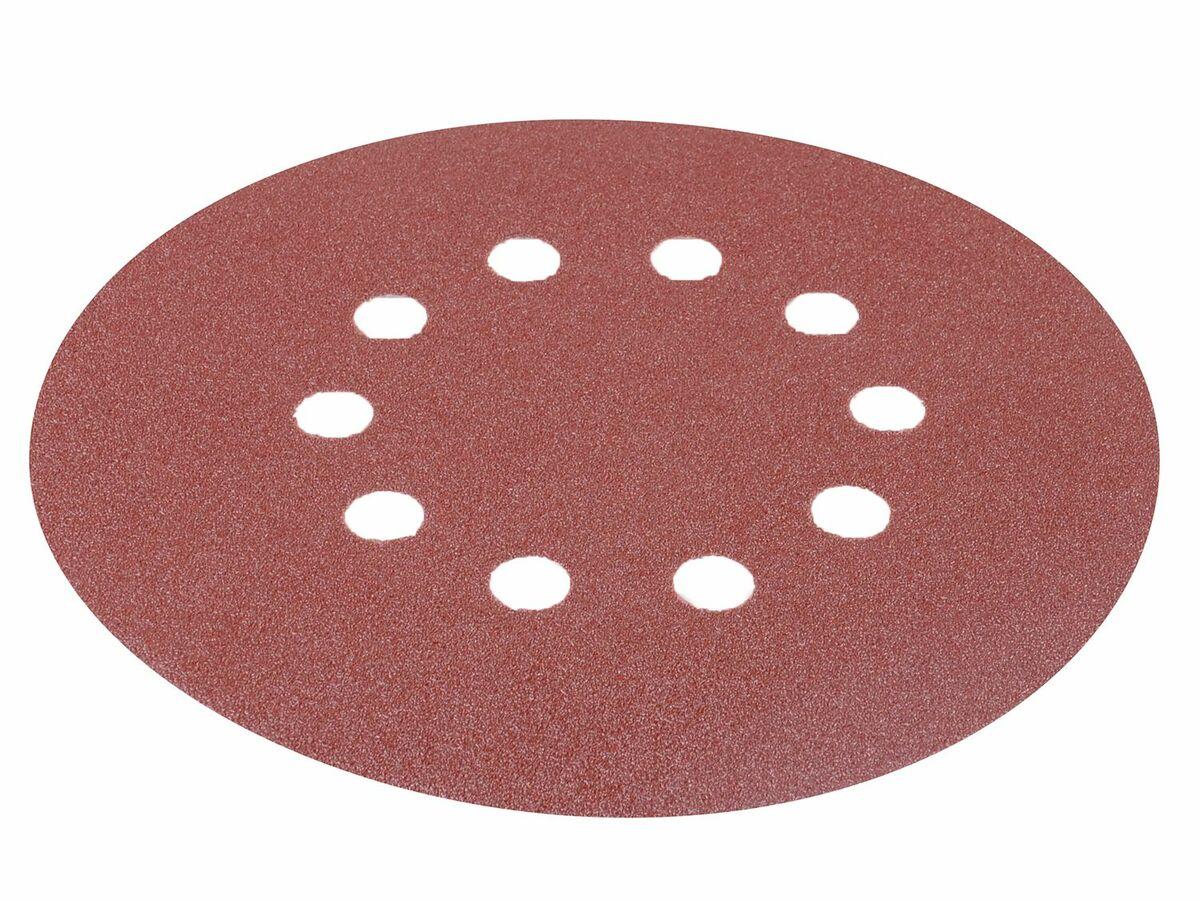 Bild 2 von Matrix Schleifpapier für Deckenschleifer 10er-Packung Körnung 120