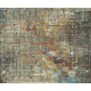 Esposa VINTAGE-TEPPICH 133/185 cm Grau, Mehrfarbig