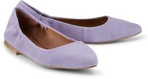 Stretch-Ballerina von COX in lila für Damen. Gr. 36,38