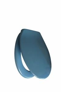 Primaster WC-Sitz Bermuda Blau   B-Ware - der Artikel ist neu (folienschweißgerät) - die äußere Verpackung wurde geöffnet