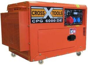 Cross Tools Diesel - Stromerzeuger   B-Ware - Ausstellungsstück - der Artikel wurde vom Hersteller geprüft und ist technisch einwandfrei - weist Gebrauchsspuren auf - volle gesetzliche Gewährleist