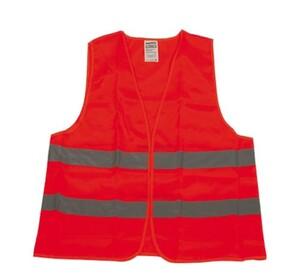 Unitec Warnweste Universalgröße ,  für Erwachsene, EN ISO 20471, orange