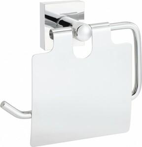 Primaster Papierrollenhalter Classic Cube ,  edelstahl, mit Deckel