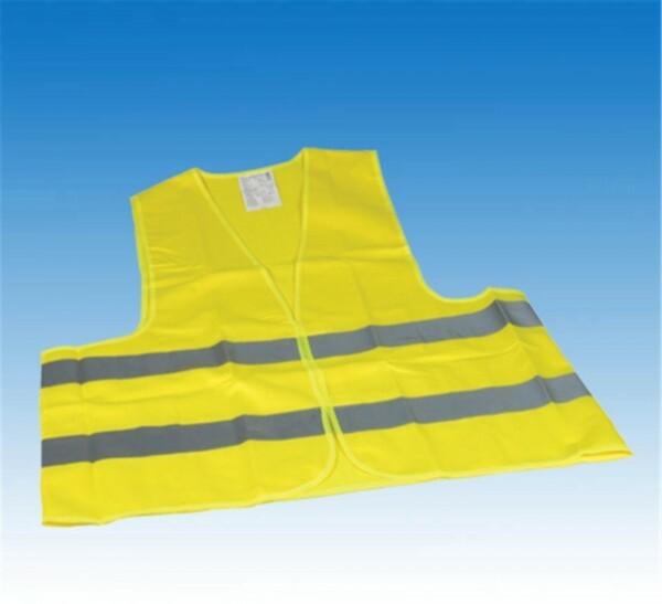 Unitec Warnweste Universalgröße ,  für Erwachsene, EN ISO 20471, gelb