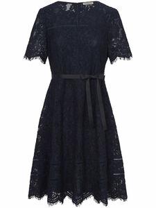 Spitzen-Kleid 1/2-Arm Uta Raasch blau