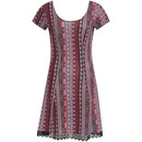 Bild 1 von Damen Kleid mit Spitze
