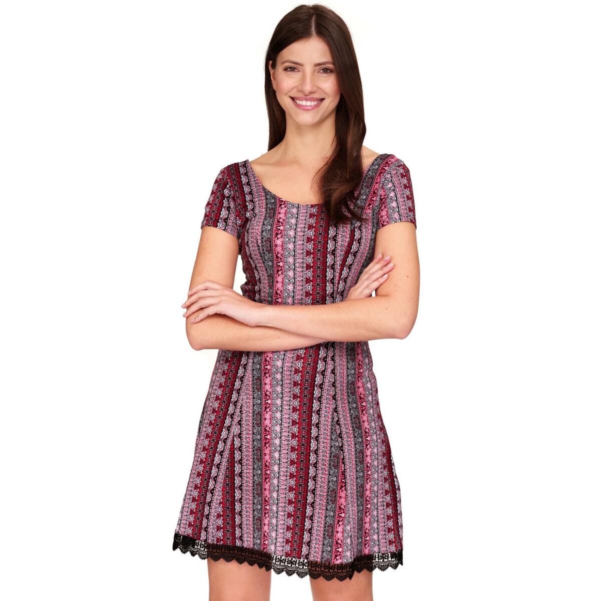Bild 2 von Damen Kleid mit Spitze