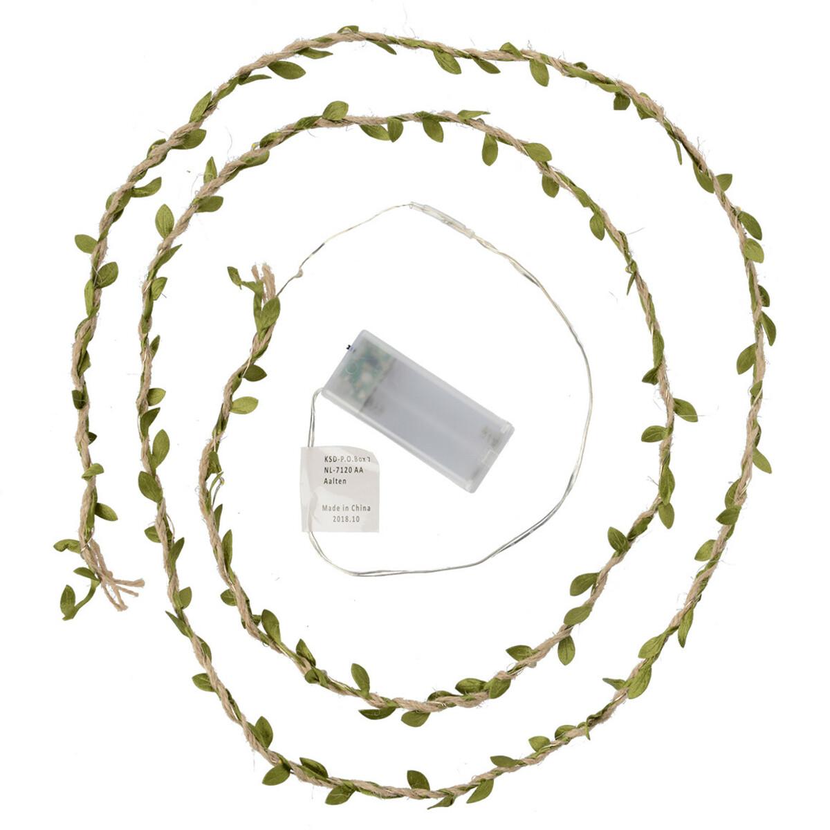 Bild 1 von LED-Lichterkette mit Deko-Blättern