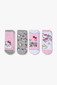 Hello Kitty - Socken - 4 Paar