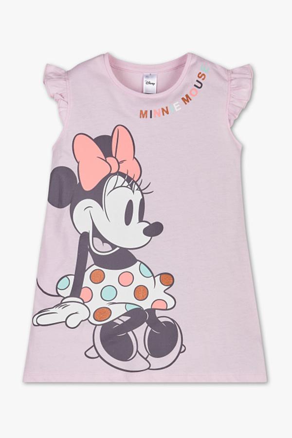Minnie Maus - Nachthemd - Bio-Baumwolle - Glanz Effekt