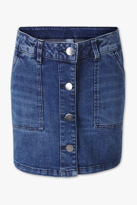 Here and There         THE SKIRT JEANS