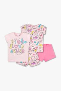 Palomino         Shorty-Pyjama - Bio-Baumwolle - 2er Pack