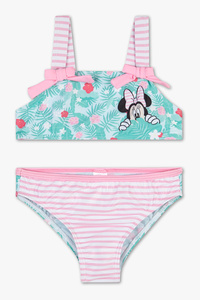 Rodeo         Minnie Maus - Bikini - 2 teilig - gestreift